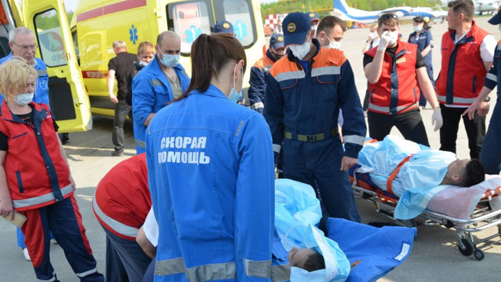 Раненые в Казани дети и взрослые доставлены в Москву