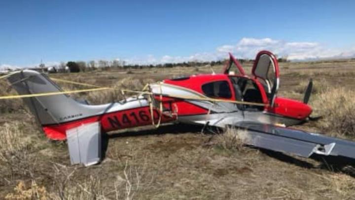 В Денвере в воздухе столкнулись два легких самолета