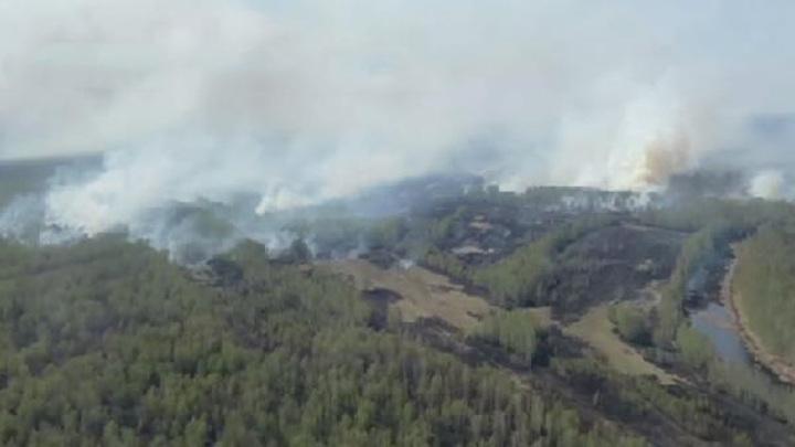 В Тюменской области локализовали два пожара вблизи населенных пунктов