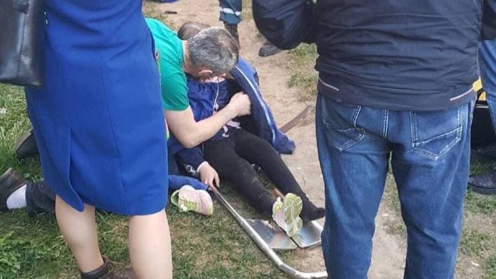Автомобиль МЧС вылетел с дороги и сбил девочку на востоке Подмосковья