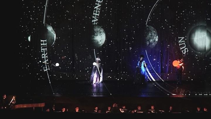 """Оратория Йозефа Гайдна """"Сотворение мира"""". Театр """"Фура дель Бауш"""" (Испания)"""