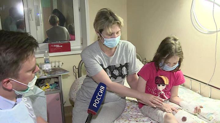 Врачи продолжают бороться за здоровье детей, пострадавших в Казани