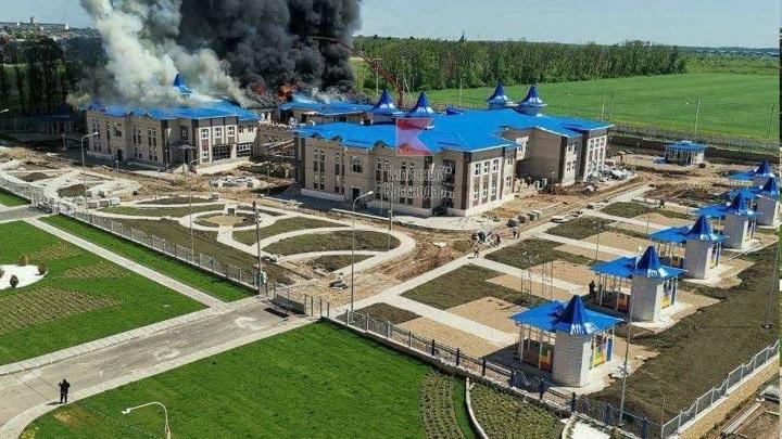 После пожара в детском саду Кореновска возбудили уголовное дело