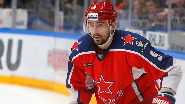 Капитаном хоккейной сборной станет Антон Слепышев