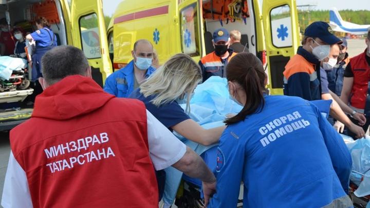 Пострадавшими при стрельбе в казанской школе считаются 25 человек