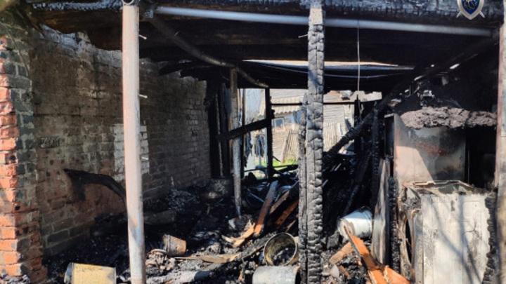 Бабушка и 4-летний внук погибли на пожаре в Сарове