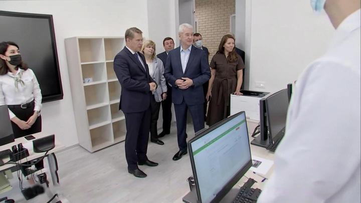 Собянин и Мурашко открыли в столице центр подготовки врачей