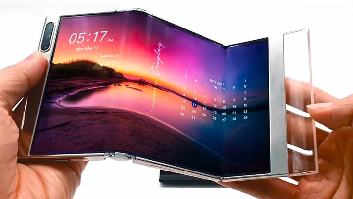 Samsung показал будущее складной электроники