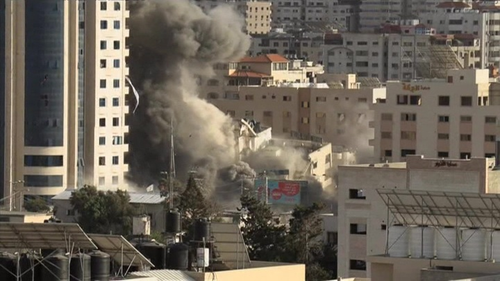 На палестино-израильской границе вновь звучат сирены воздушной тревоги