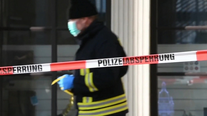 """Арестован пятый подозреваемый в """"краже века"""" в Дрездене"""