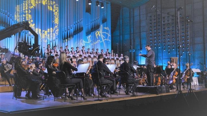 Церемония закрытия конкурса в Братиславском Доме радио