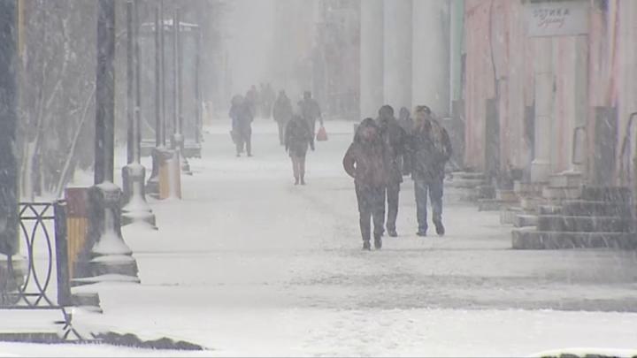 На Мурманскую область обрушится майский снегопад