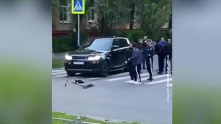 В Подмосковье водитель обстрелял пешеходов на зебре