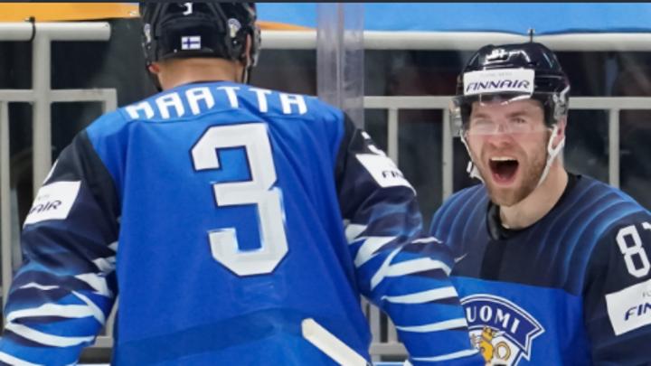 Финские хоккеисты одержали победу в матче чемпионата мира с Норвегией