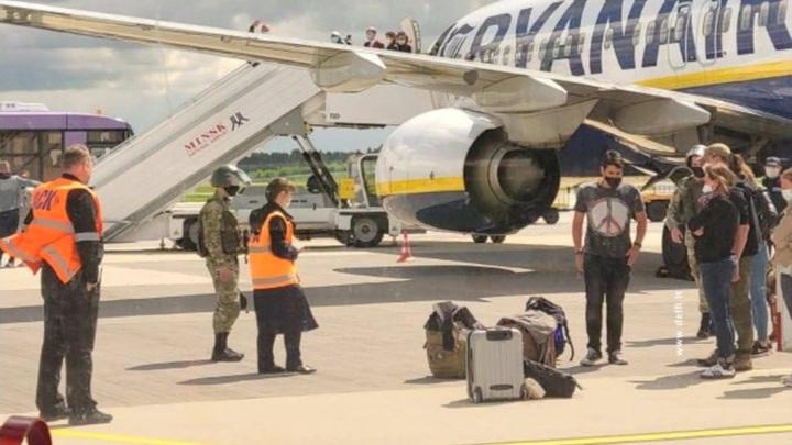 Решение сажать самолёт компании Ryanair в Минске принял экипаж