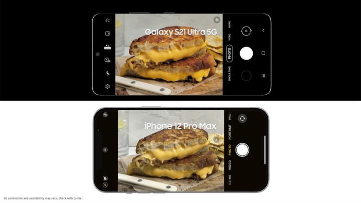 Samsung высмеял камеру самого дорогого iPhone