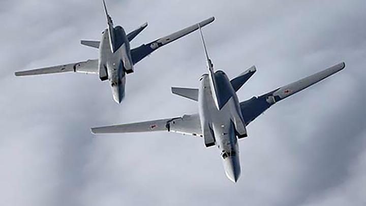 На фоне учений НАТО бомбардировщики Ту-22М3 совершили полеты над Черным морем