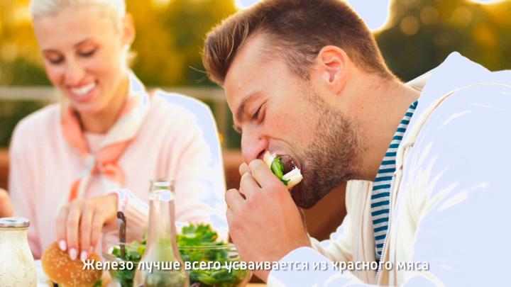 """Кадр из программы """"О самом главном"""".  Мясников призвал запретить рекламу колбасы"""