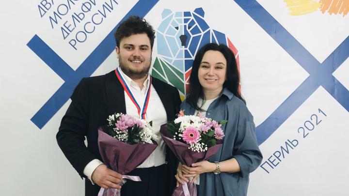 Павел Анциферов стал обладателем золотой медали молодежных Дельфийских игр