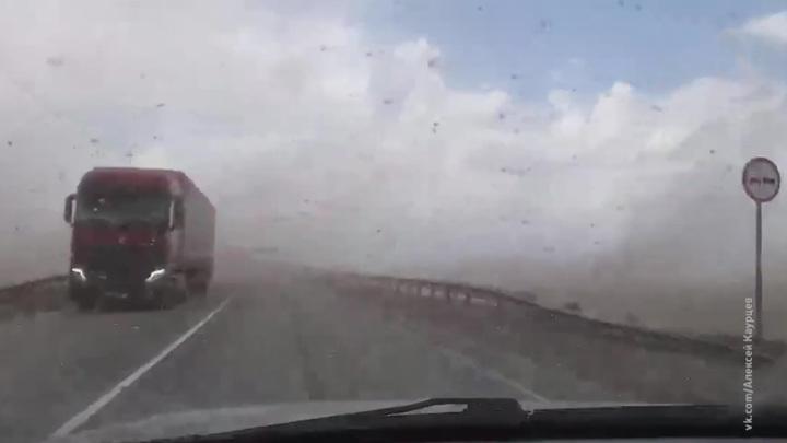 Возвращение стихии. Пыльная буря накрыла Омскую область