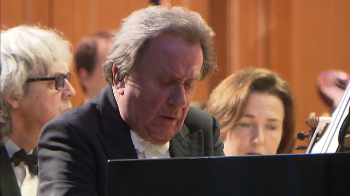 Пианист Рудольф Бухбиндер выступил в Москве