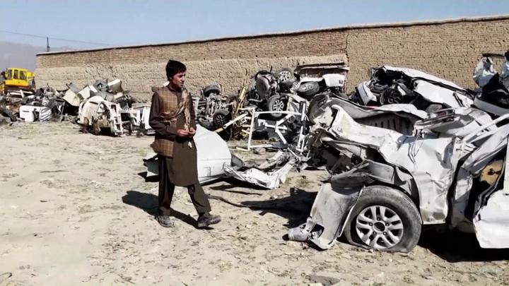 Все – под пресс: бесславные итоги операции Америки в Афганистане