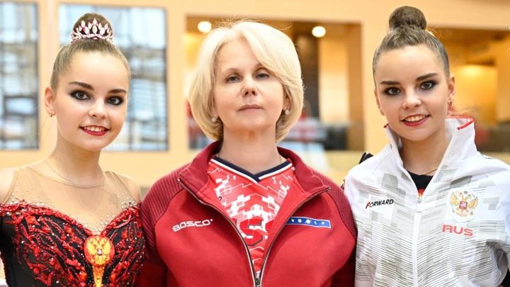 Дина Аверина выиграла три золотые медали на чемпионате Европы по художественной гимнастике