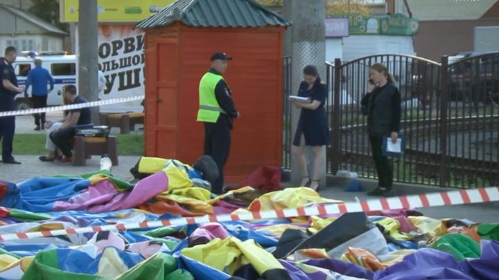 Упавшие с батута в Барнауле девочки до сих пор находятся в реанимации