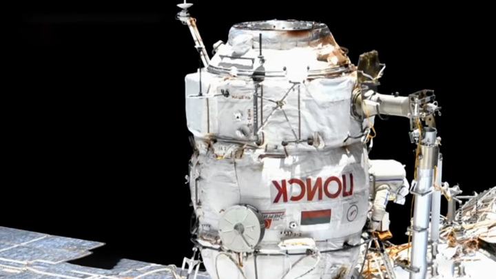 Хабаровчанин работал в открытом космосе более 7 часов
