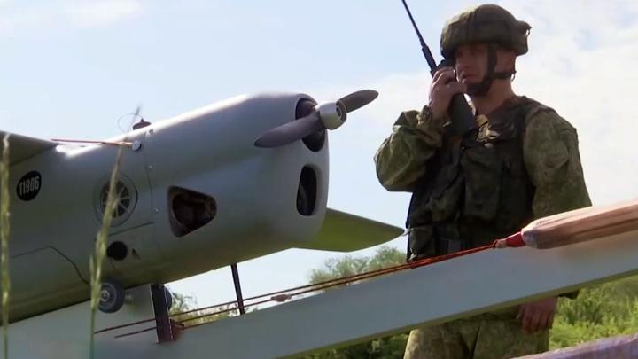 """Взор """"Орлана"""": дроны разведали местность в Калининградской области"""