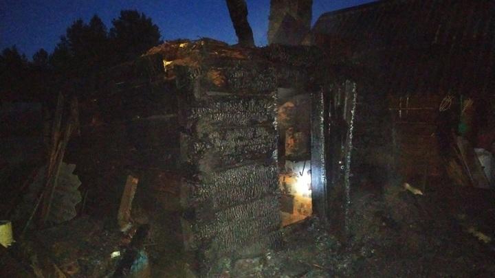 В Вологодской области мужчина заживо сгорел в собственной бане