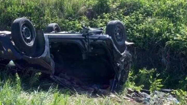 В Татарстане 16-летний водитель и две пассажирки погибли, вылетев в кювет