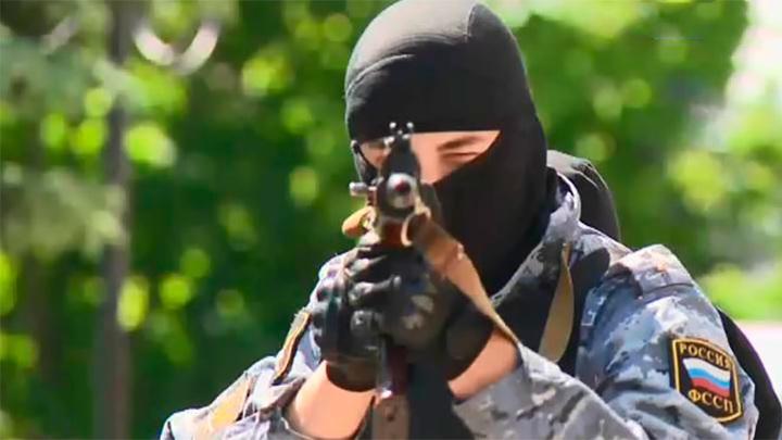 Крупные антитеррористические учения прошли в Туле