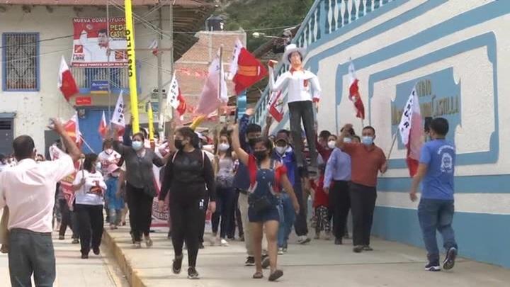Выборы президента в Перу: побеждает кандидат от левой партии