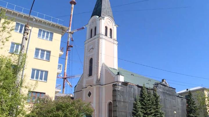 В Архангельске началась масштабная реставрация старинной кирхи