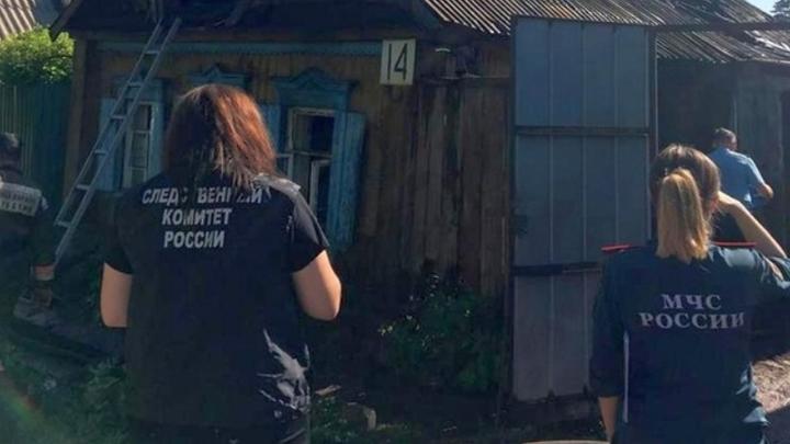В Оренбуржье задержан подозреваемый в убийстве женщины и двоих ее дочерей