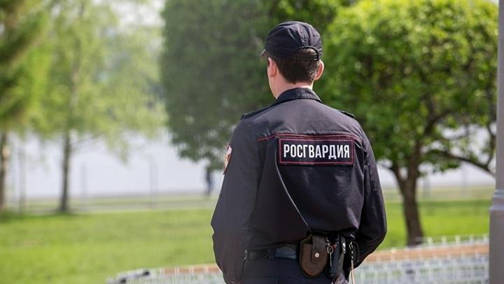В Кузбассе росгвардейцы помогли водителю вспыхнувшего авто