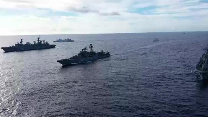 3 российских противолодочных самолёта совершили полёт в центр Тихого океана