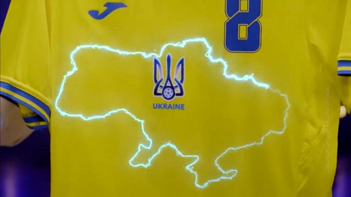 Лозунг очков не добавит: сборной Украины придется стирать футболки