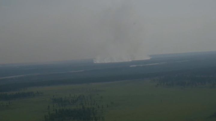 Лесные пожары продолжают бушевать в Якутии