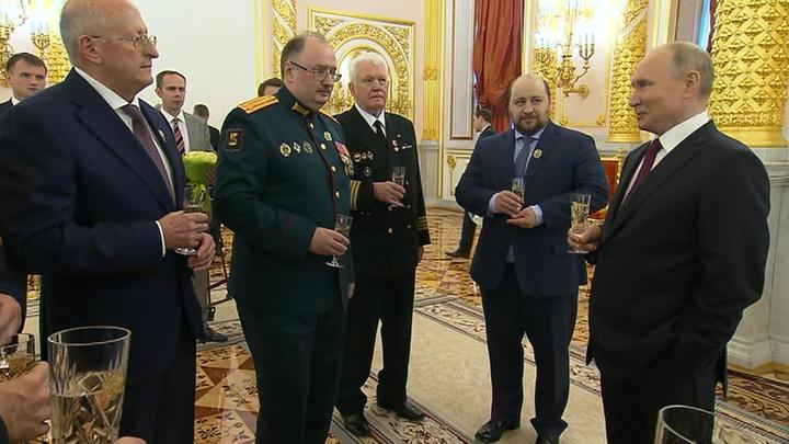 Прием в Кремле: мощь российской науки и будущее Севморпути