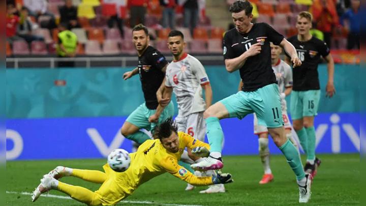 Австрия обыграла Северную Македонию в Бухаресте
