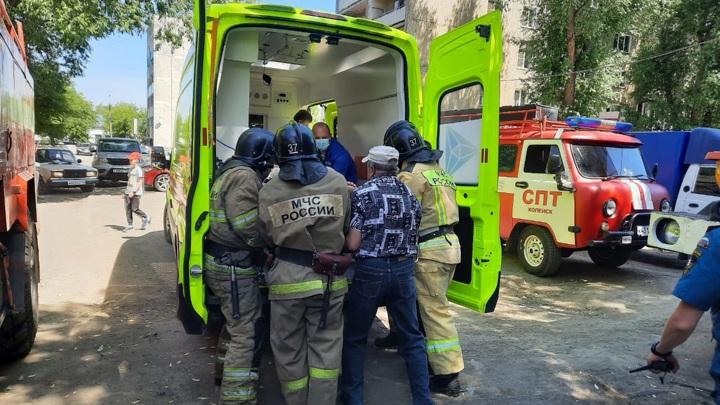 Мужчина пострадал от хлопка газа в Челябинской области