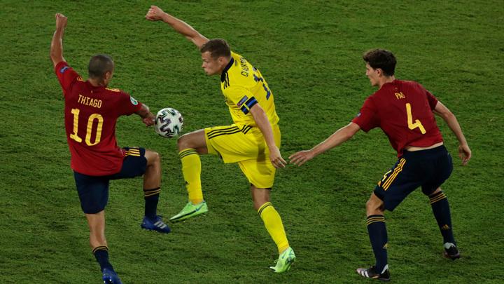 Сборная Испании не смогла обыграть Швецию в матче чемпионата Европы