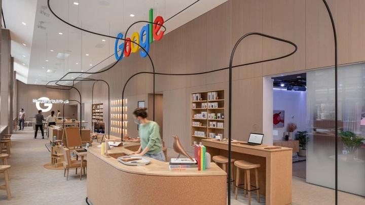 Google открывает первый оффлайновый магазин