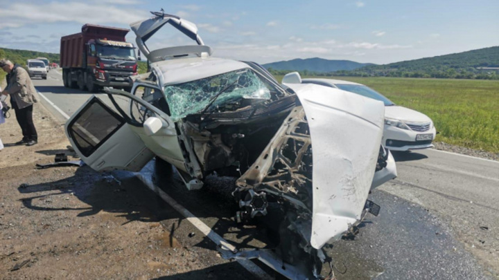 Аварию с шестью пострадавшими спровоцировал водитель без прав