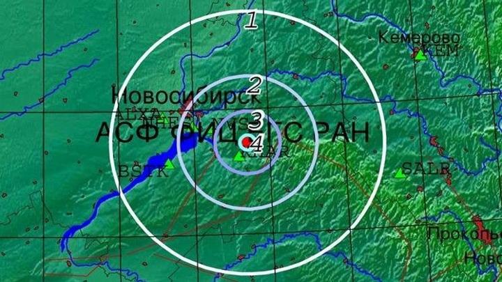 В Новосибирской области произошло землетрясение магнитудой 3,5