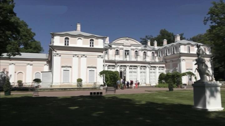 В Китайском дворце в Ораниембауме открыли два отреставрированных зала