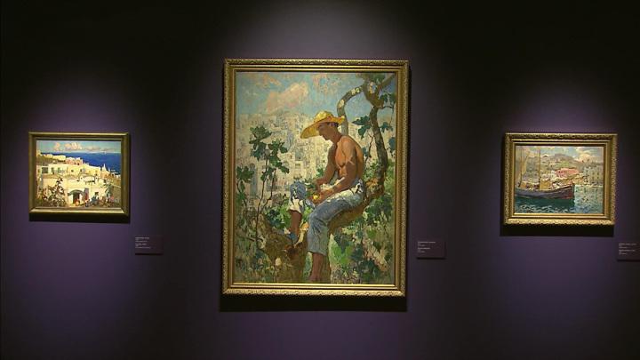 """Вмузее """"Новый Иерусалим"""" открылась выставка работ Константина Горбатова"""
