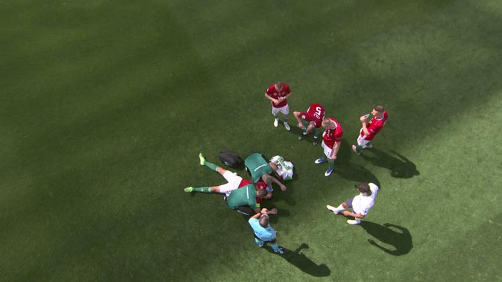 Капитан сборной Венгрии Салаи получил тепловой удар и был заменен